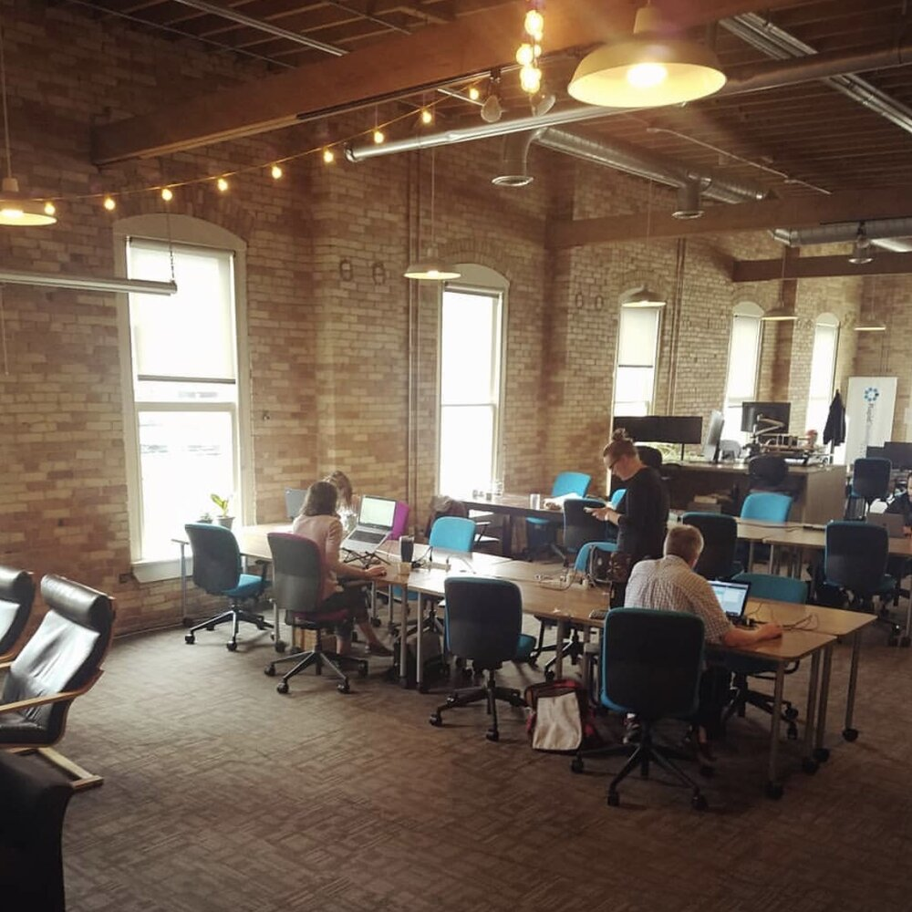 Grand Rapids Coworking, Coworking Spaces, Office Spaces, Blue 35