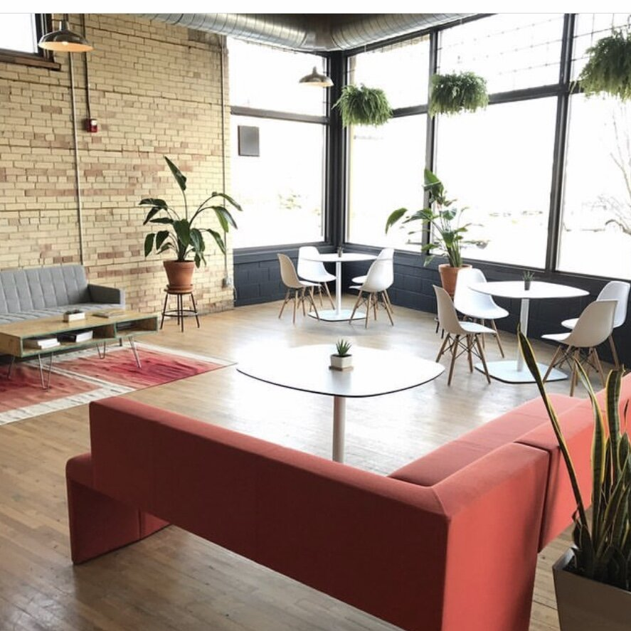 Grand Rapids Coworking, Coworking Spaces, Office Spaces, Yote, Downtown Grand Rapids, Coffee