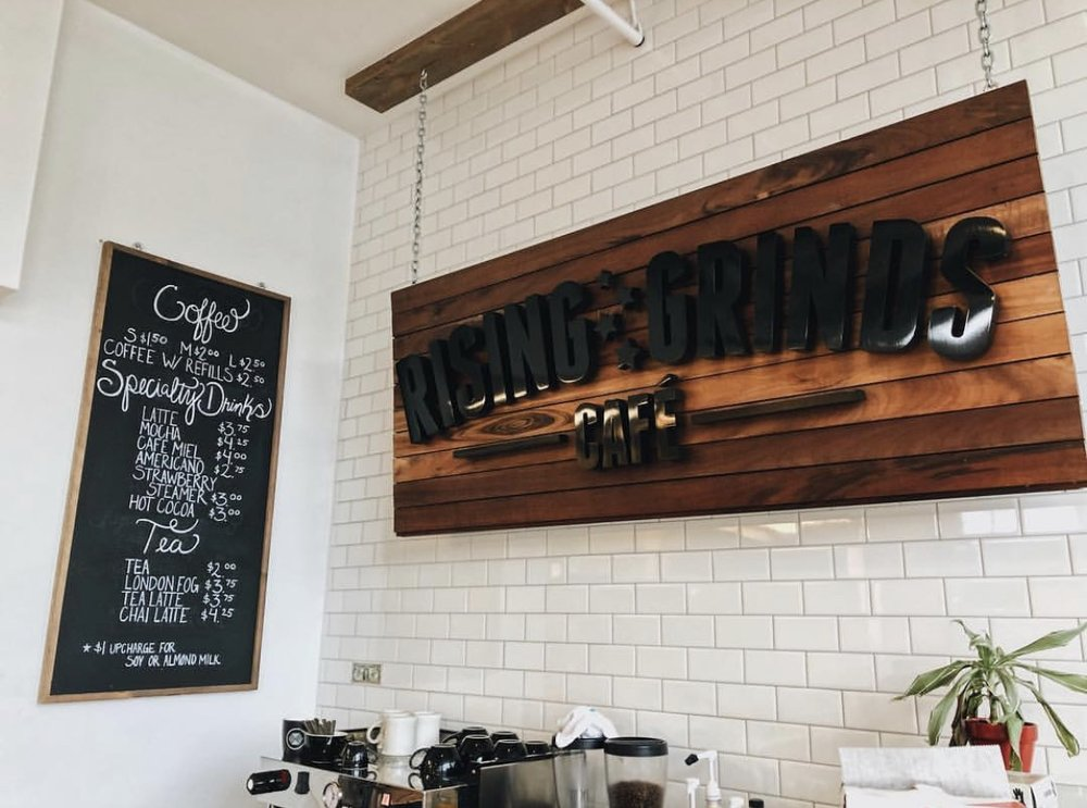 Rising Grinds - Rising Grinds Café has been and will continue to be a space representing resilience, growth, and community.